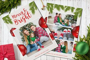 Christmas Postcard 5x7 V4