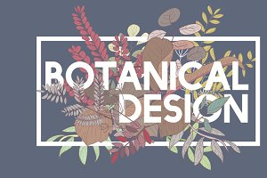 Botanical Design Vector