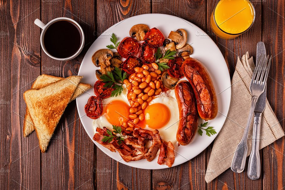 Image result for english breakfast