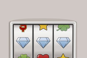 Slot Machine Jackpot Icon