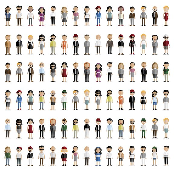 Diversity Community People Vector