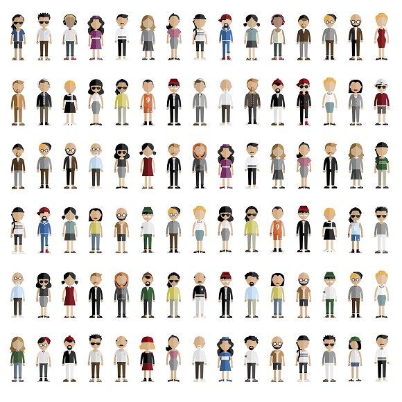 Diversity Community People Vector