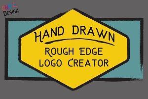 Rough Hand Logo Creator