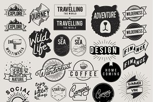 Icon Symbol Badge Logo Collection