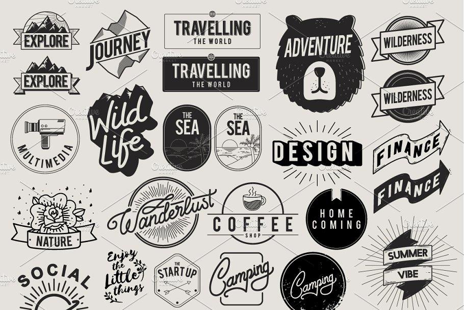 Icon Symbol Badge Logo Collection