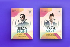 Ibiza Night Party Flyer