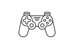 Gamepad linear icon