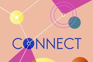 Connect Graphic Vector