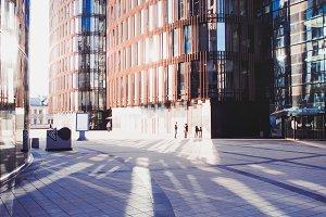 Business centre, modern business
