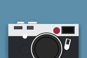 Retro Camera Photography Icon