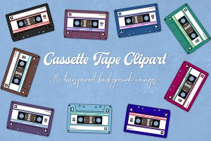 Audio Cassette Clipart