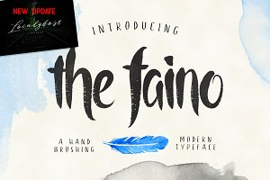 the faino typeface