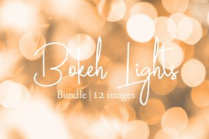 Bokeh lights background bundle