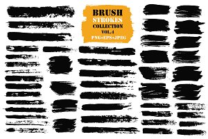 Brush Strokes Collection Vol.4