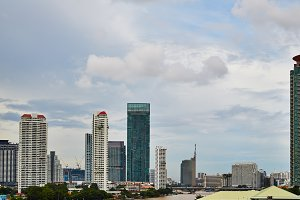 High buildings in thailand