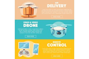 Drone for delivery and entertainment