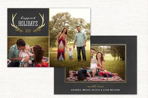 Holidays Card Christmas CC096