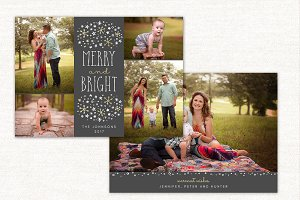 Christmas Card Template CC167
