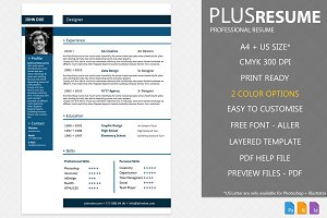 PlusRESUME - CV & Cover Letter