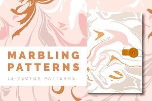 Marbling Vector Patterns