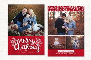 Christmas Card Template CC140