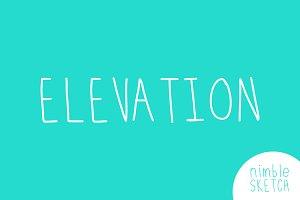Elevation Font