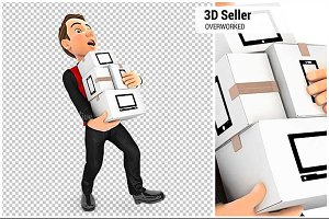 3D Seller Overworked