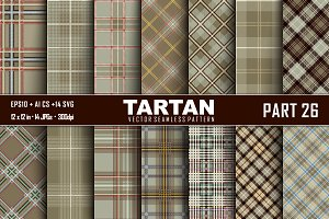 Seamless  Tartan Pattern Part - 26