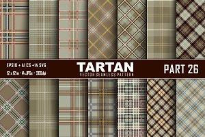 Seamless  Tartan Pattern Part - 26