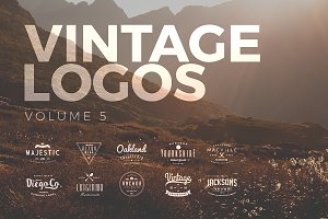 Vintage Logos and Badges Set 5