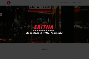 Eritna - Agency & Portfolio Template