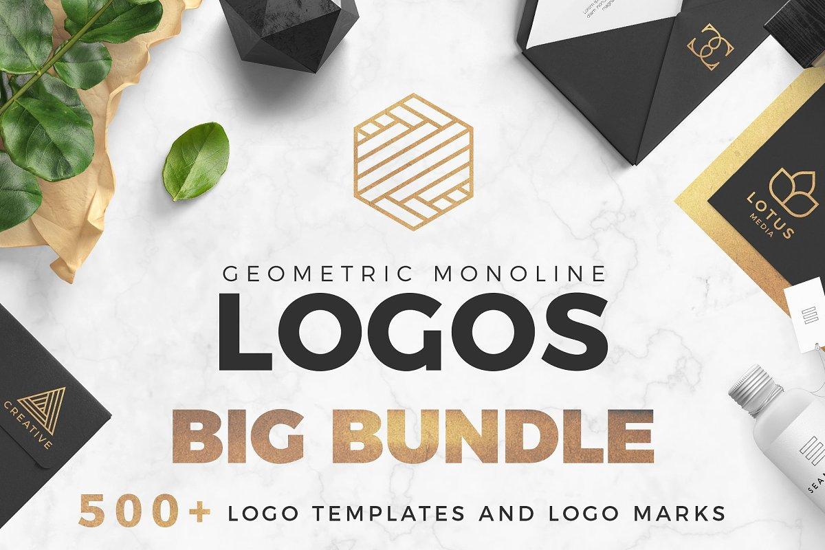 d99477c569 SALE! Geometric Logo Pack ~ Logo Templates ~ Creative Market