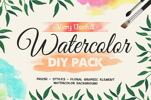 Very Usefull Watercolor Pack OFF 55%