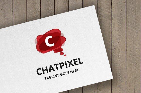 ChatPixel (Letter C) Logo