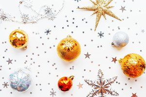 Christmas and New Year holiday decor