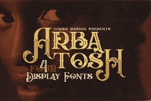 Arbatosh - Display Font