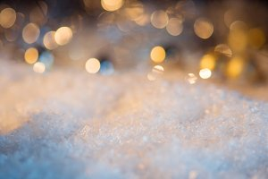 Christmas background. The snow