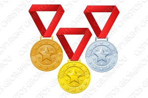 Winners medals
