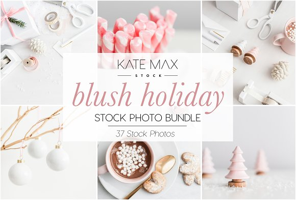 Blush Christmas Stock Photo-Graphicriver中文最全的素材分享平台