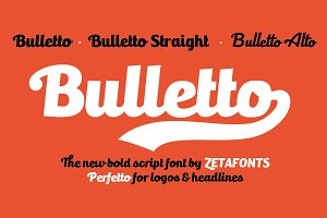 Bulletto - 5 fonts