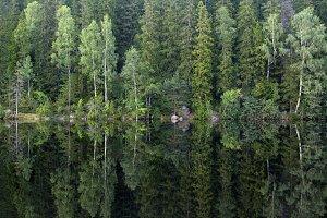 Falkasjon lake near Kilsbergen