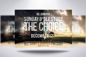 The Choice Church Flyer