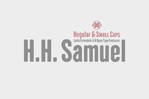 H.H. Samuel -2 fonts-
