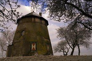 Remains of the windmill Zuidmolen