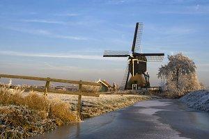 Windmill 'Kleine Tiendweg molen'