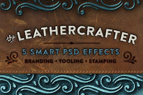The Leathercrafter - Smart PSD