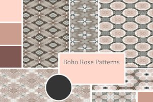 Boho Rose Patterns