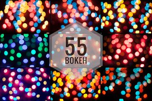 55 Bokeh backgrounds