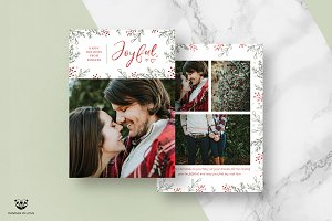 Christmas Card Template 02