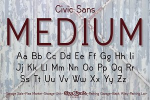 Civic Sans Medium